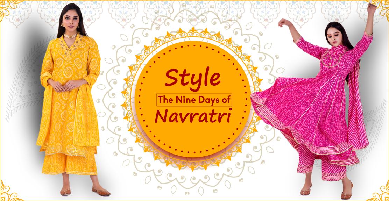 Style the Nine Days of Navratri