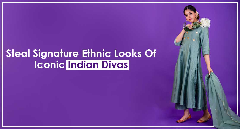 Steal Signature Ethnic Looks Of Iconic Indian Divas