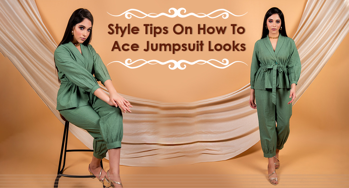 Style Tips On How To Ace Jumpsuit Looks