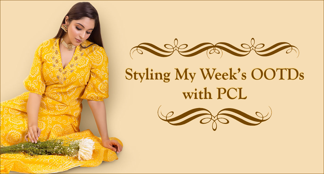 Styling My Week's OOTDs with PCL