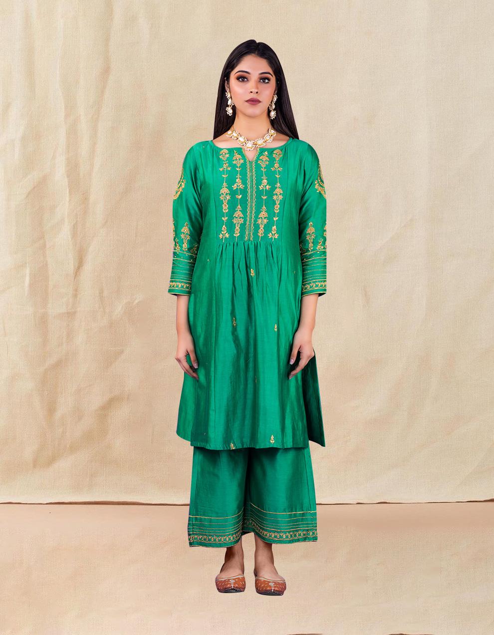Buy the best  chanderi silk designs