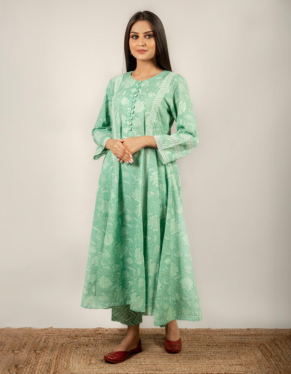 cotton kurta with pants