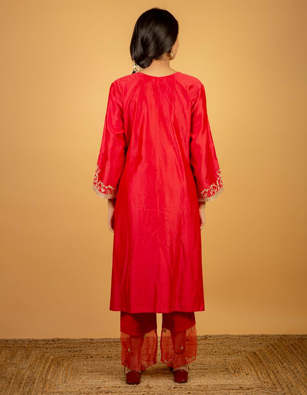 Chanderi Kurta designs for women