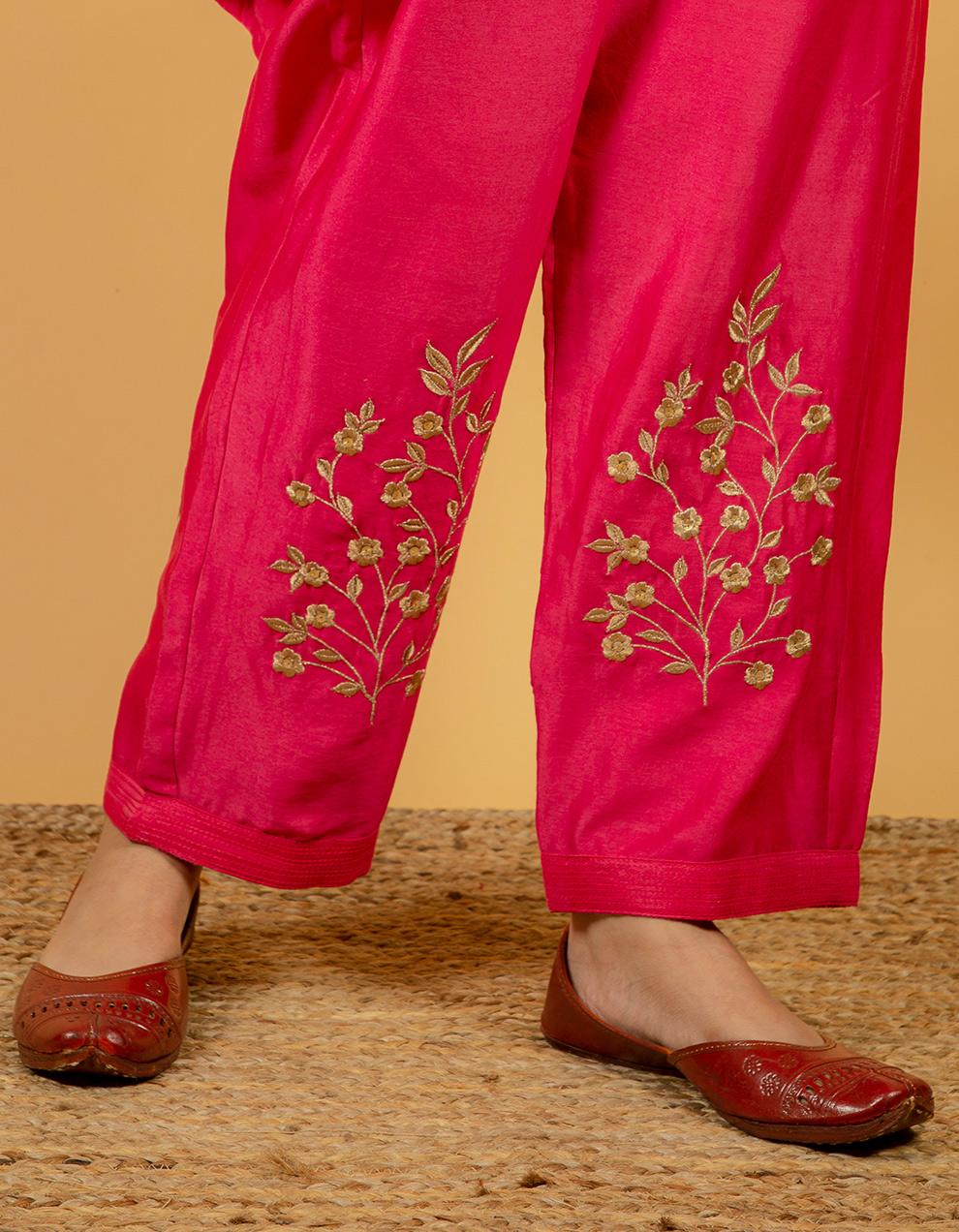 best quality chanderi pants
