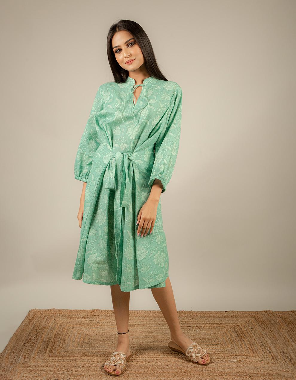 Ladies Cotton Dress Design
