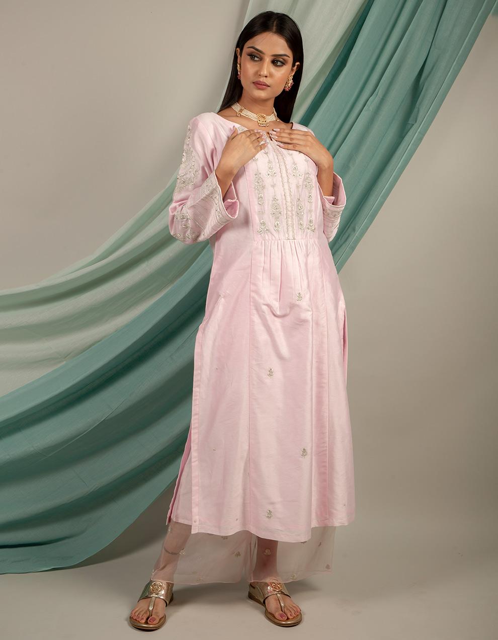 Buy best chanderi silk pants designers