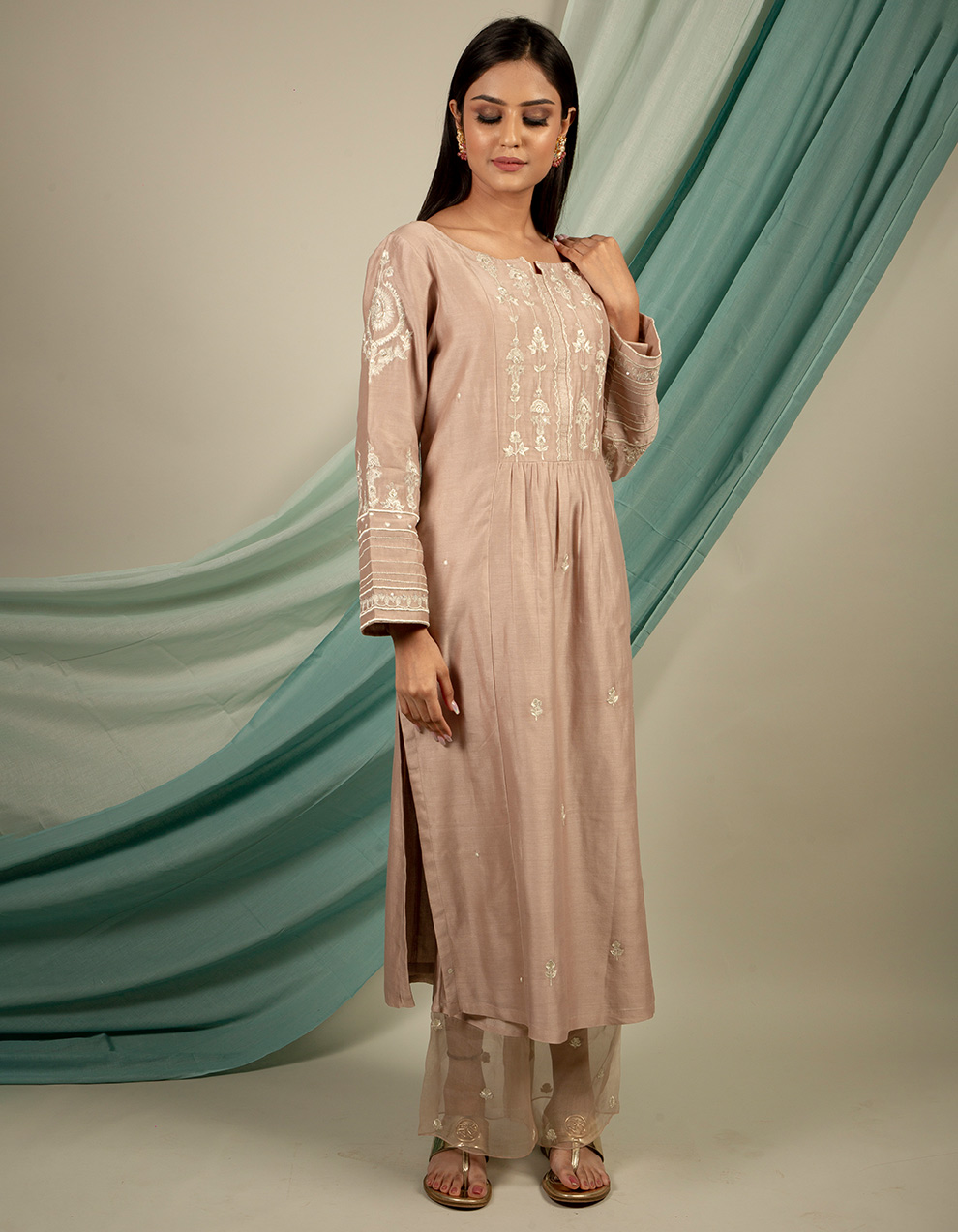 Buy Designer silk kurta collection Online for Women in India